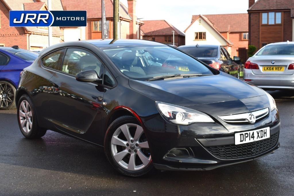 used Vauxhall Astra GTC SPORT CDTI S/S in preston-lancashire