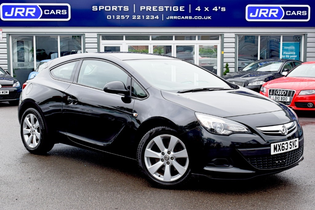 used Vauxhall Astra GTC SPORT S/S in preston-lancashire