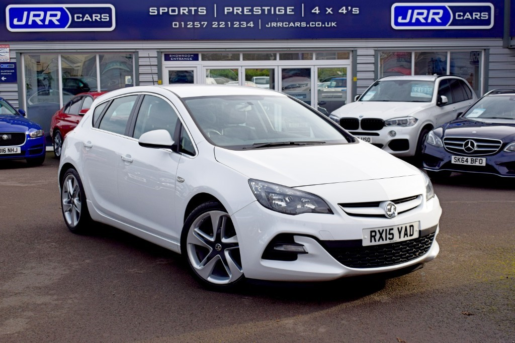 used Vauxhall Astra USED LIMITED EDITION in chorley-lancashire