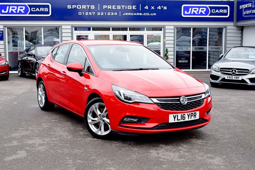 used Vauxhall Astra SRI CDTI USED in chorley-lancashire