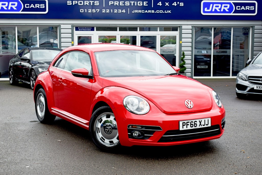 used VW Beetle DESIGN TSI BLUEMOTION TECHNOLOGY USED in chorley-lancashire