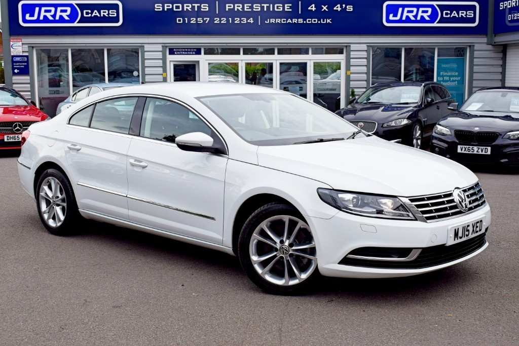 used VW CC USED TSI BLUEMOTION TECHNOLOGY DSG in preston-lancashire