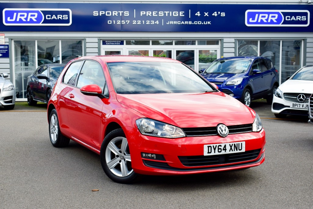 used VW Golf MATCH TSI BLUEMOTION TECHNOLOGY USED in chorley-lancashire