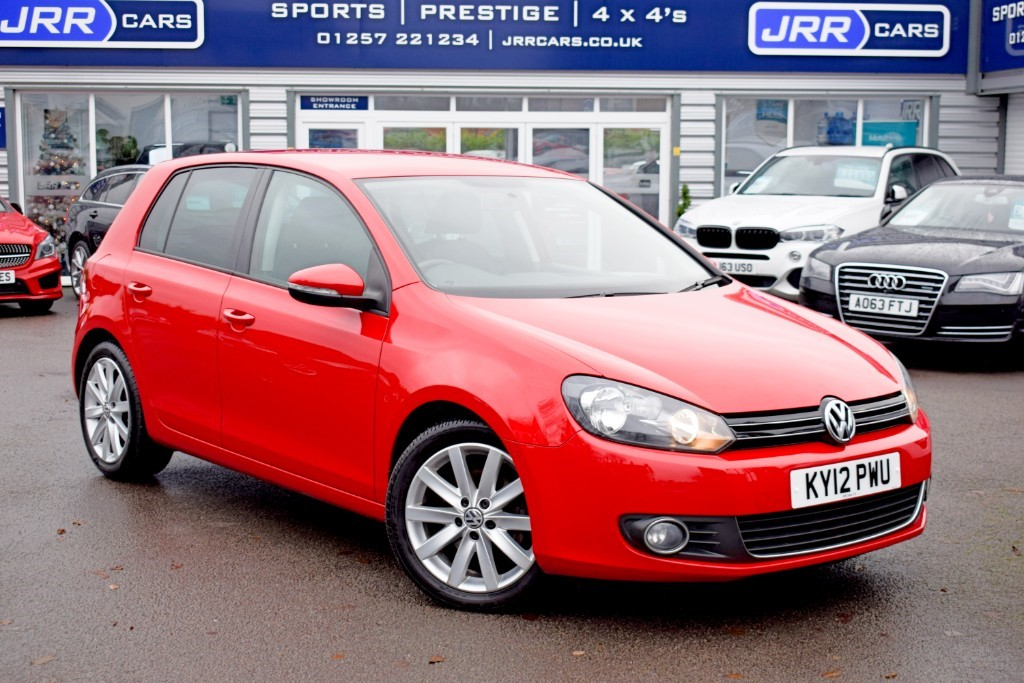 used VW Golf GT TDI DSG in preston-lancashire