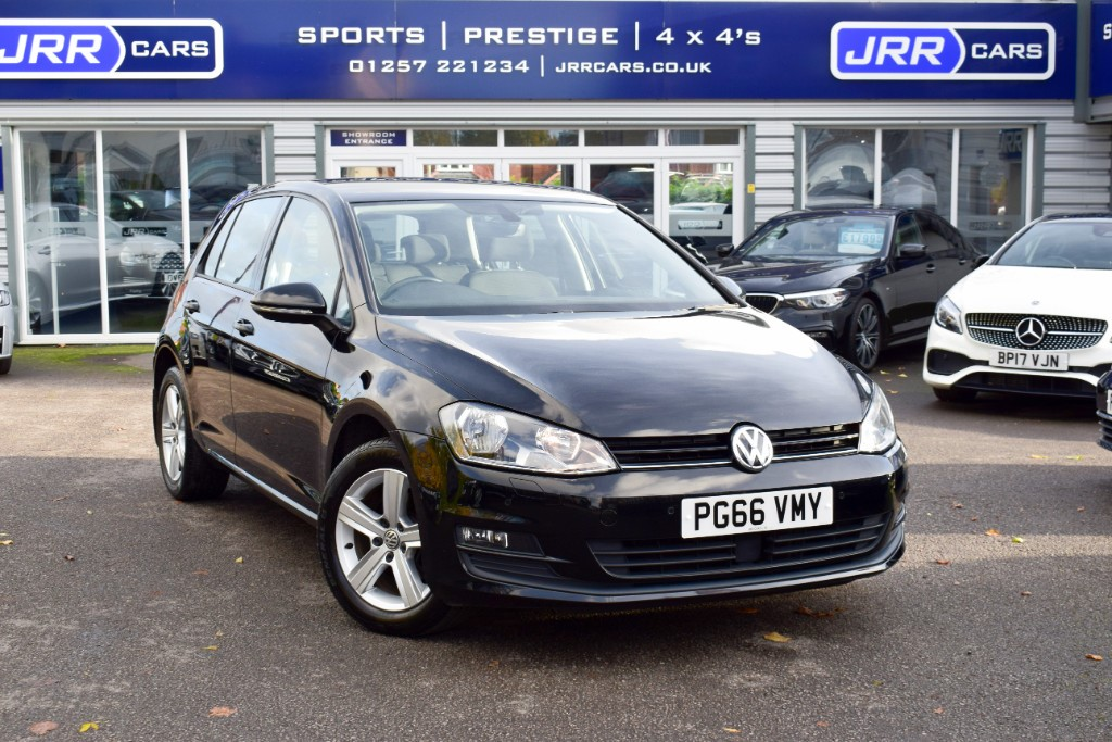 used VW Golf MATCH EDITION TDI BMT USED in chorley-lancashire