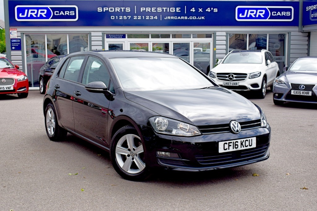 used VW Golf MATCH EDITION TDI BMT DSG USED in chorley-lancashire