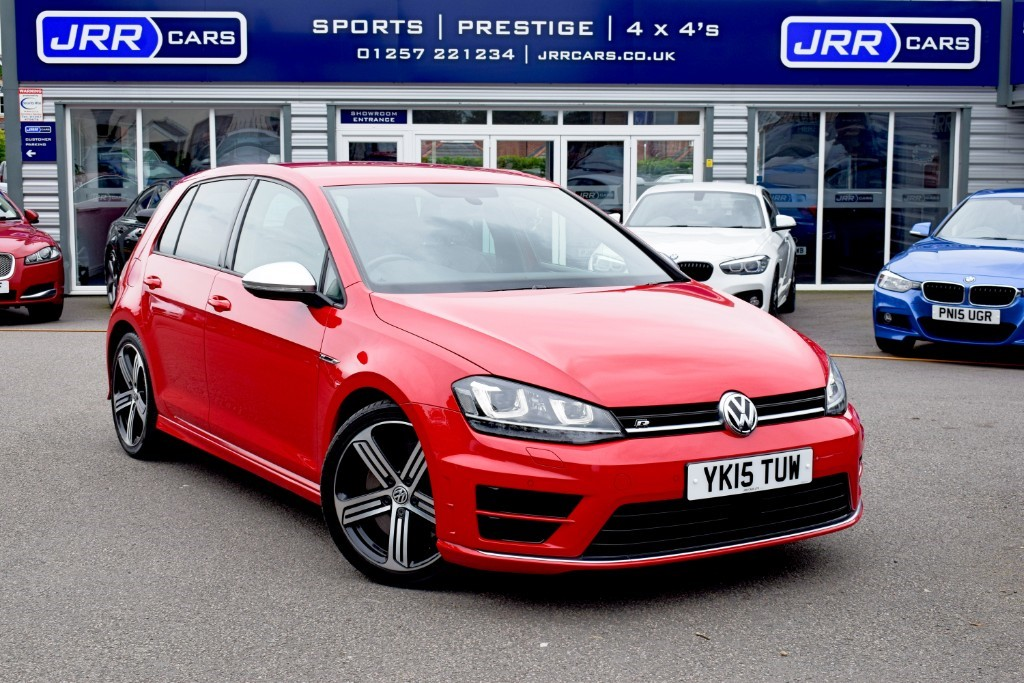 used VW Golf R in chorley-lancashire