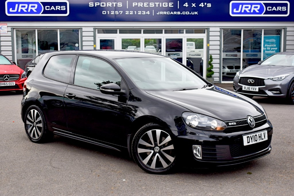 used VW Golf GTD in preston-lancashire