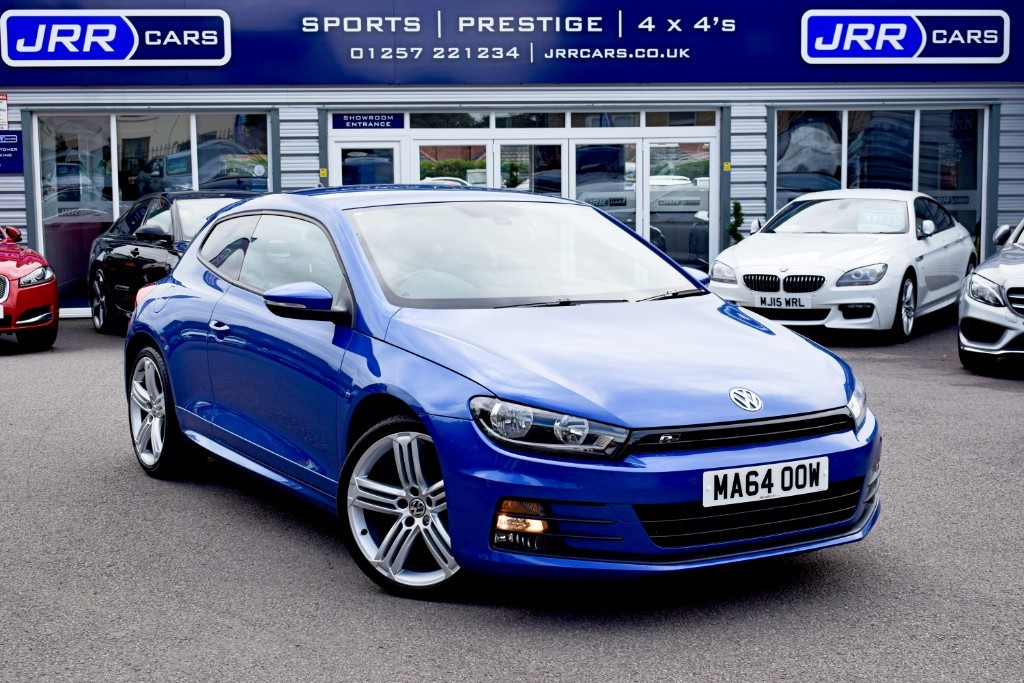 used VW Scirocco R LINE TDI BLUEMOTION TECHNOLOGY USED in chorley-lancashire