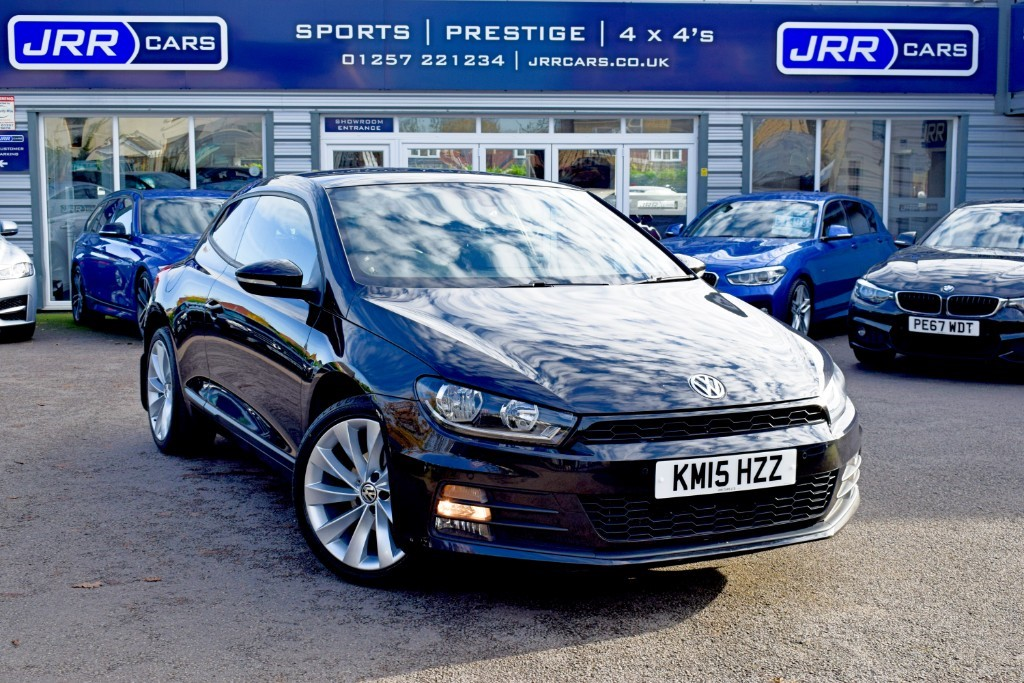 used VW Scirocco GT TDI BLUEMOTION TECHNOLOGY USED in chorley-lancashire