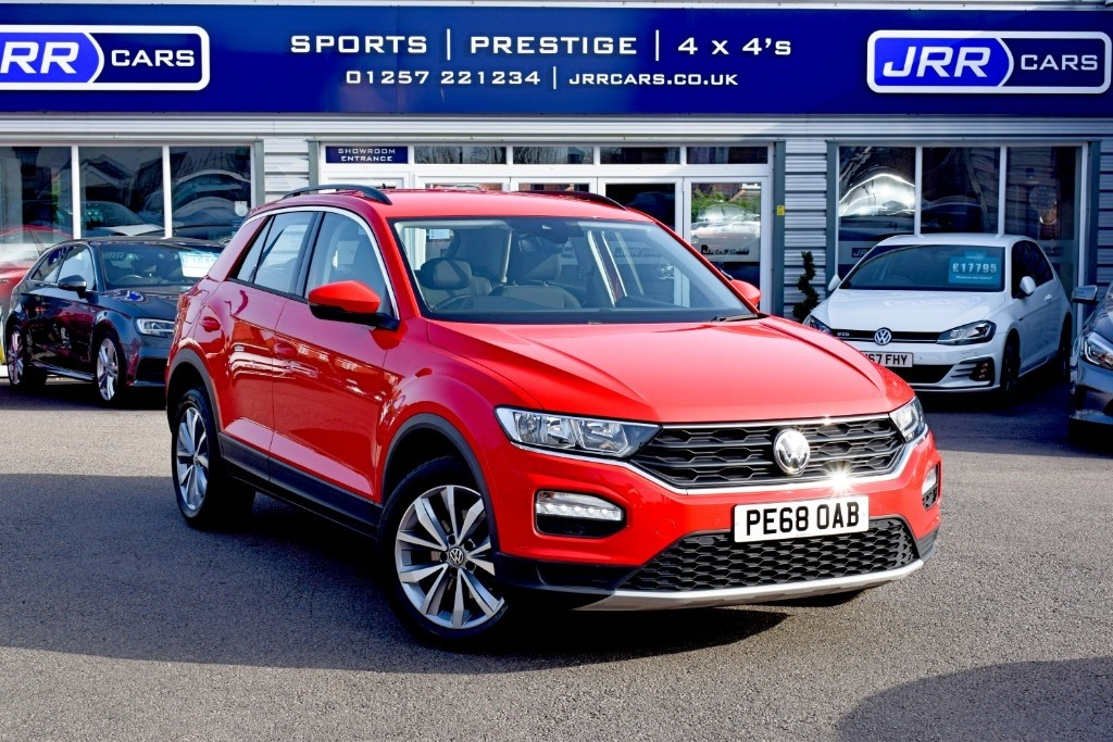 used VW T-Roc SE TSI USED in chorley-lancashire
