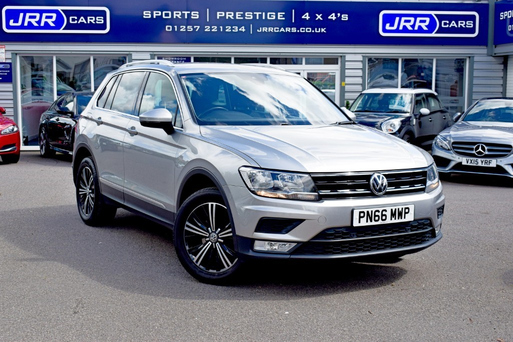 used VW Tiguan SE NAV TDI BMT 4MOTION USED in chorley-lancashire