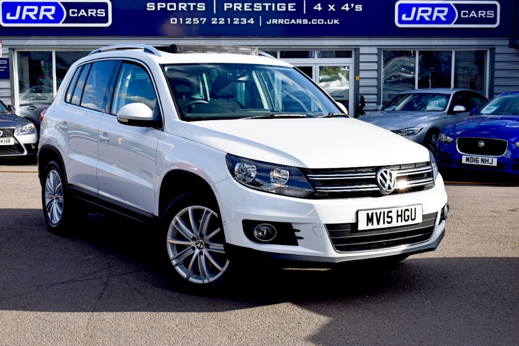 used VW Tiguan MATCH TDI BLUEMOTION TECH 4MOTION DSG USED in chorley-lancashire