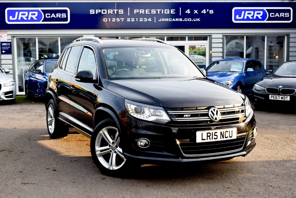 used VW Tiguan R LINE TDI BLUEMOTION TECHNOLOGY 4MOTION USED in chorley-lancashire