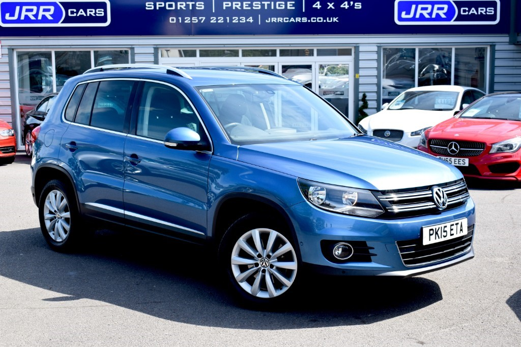 used VW Tiguan MATCH TDI BLUEMOTION TECHNOLOGY 4MOTION in preston-lancashire