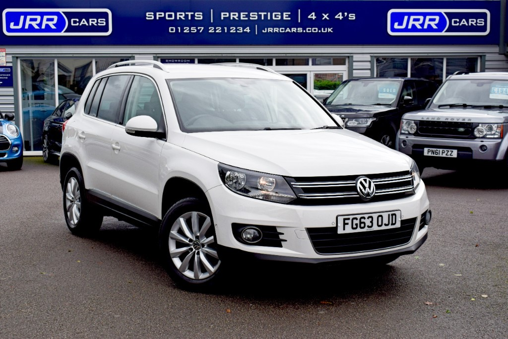 used VW Tiguan MATCH TSI BLUEMOTION TECHNOLOGY USED in chorley-lancashire