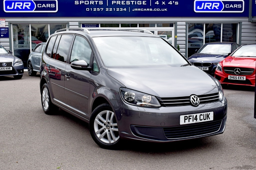 used VW Touran SE TDI BLUEMOTION TECHNOLOGY DSG USED in chorley-lancashire