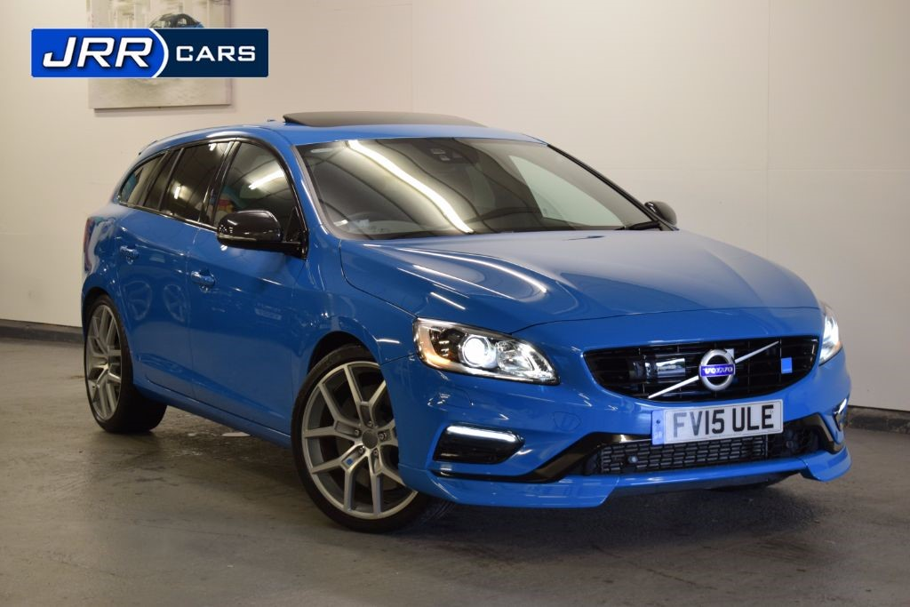 used Volvo V60 POLESTAR AWD in preston-lancashire
