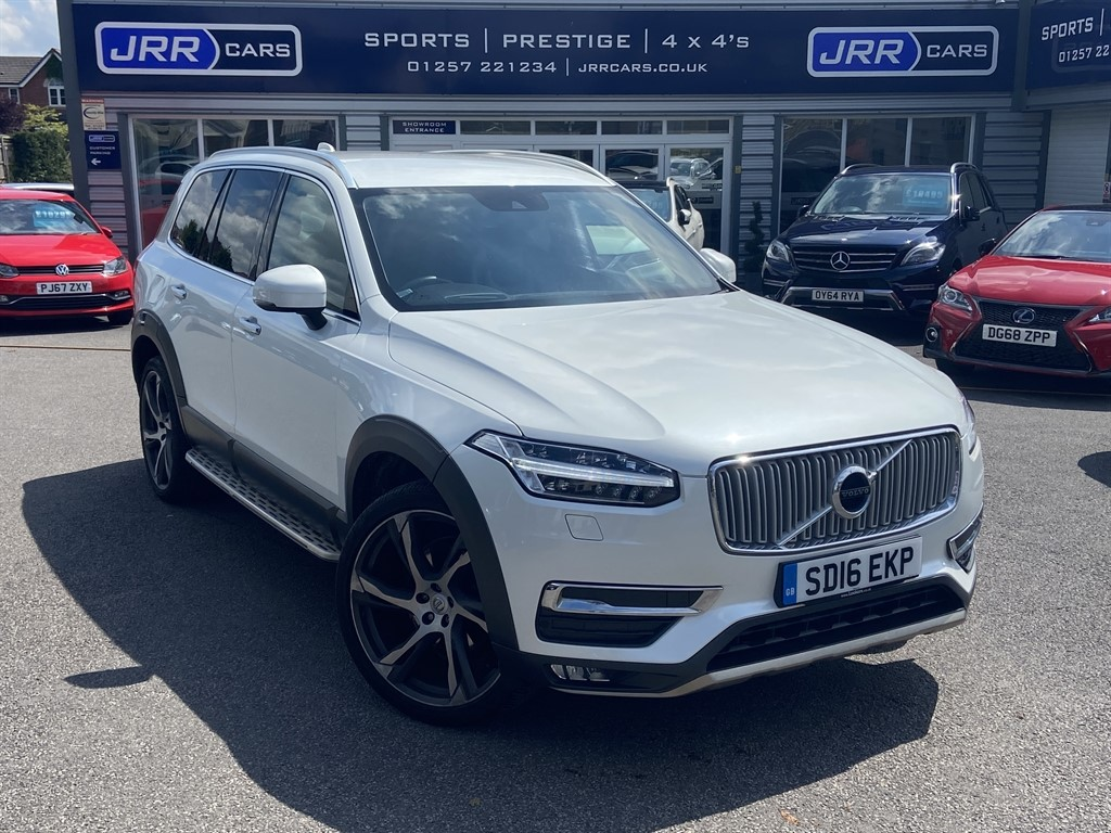 used Volvo XC90 D5 INSCRIPTION AWD USED in chorley-lancashire
