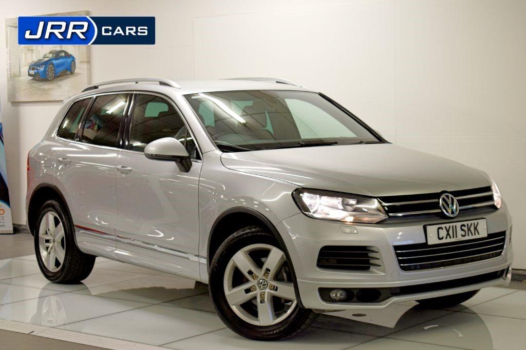 used VW Touareg V6 ALTITUDE TDI BLUEMOTION TECHNOLOGY in preston-lancashire