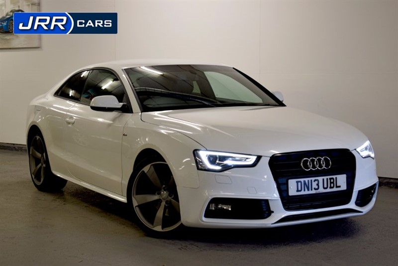 used Audi A5 TDI S LINE BLACK EDITION in preston-lancashire