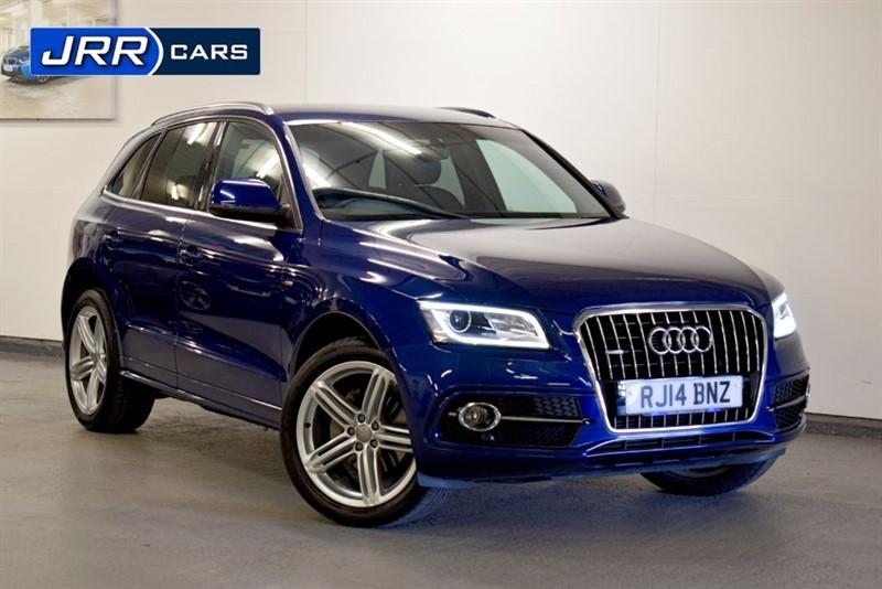 used Audi Q5 TDI QUATTRO S LINE PLUS in preston-lancashire