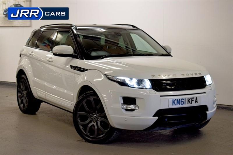 used Land Rover Range Rover Evoque SD4 PRESTIGE in preston-lancashire