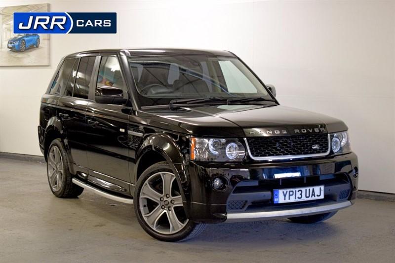 used Land Rover Range Rover Sport SDV6 HSE BLACK in preston-lancashire