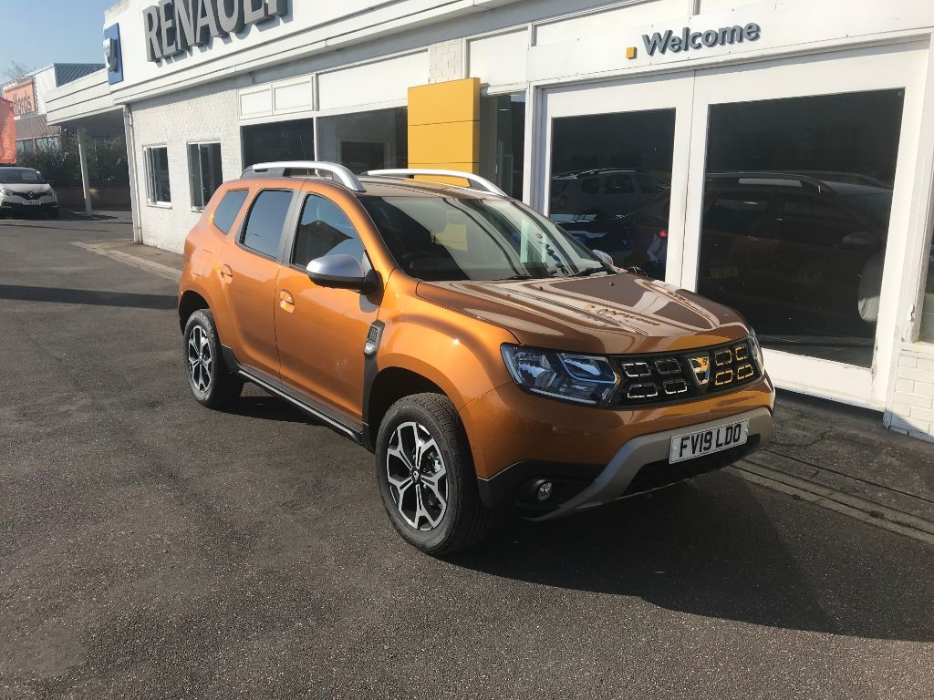 Used Desert Orange Dacia Duster For Sale Lincolnshire