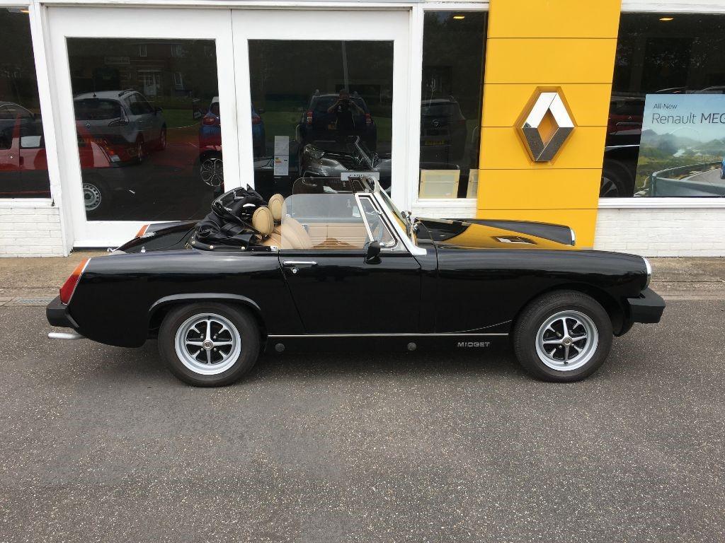 Used Black MG Midget For Sale | Lincolnshire