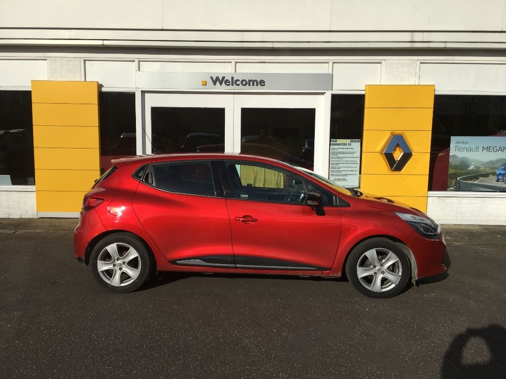 used red renault clio for sale lincolnshire. Black Bedroom Furniture Sets. Home Design Ideas