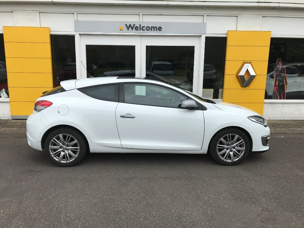 Used White Renault Megane For Sale Lincolnshire