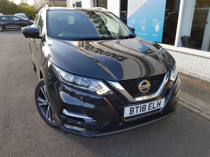 used Nissan Qashqai N-CONNECTA DIG-T in lincolnshire