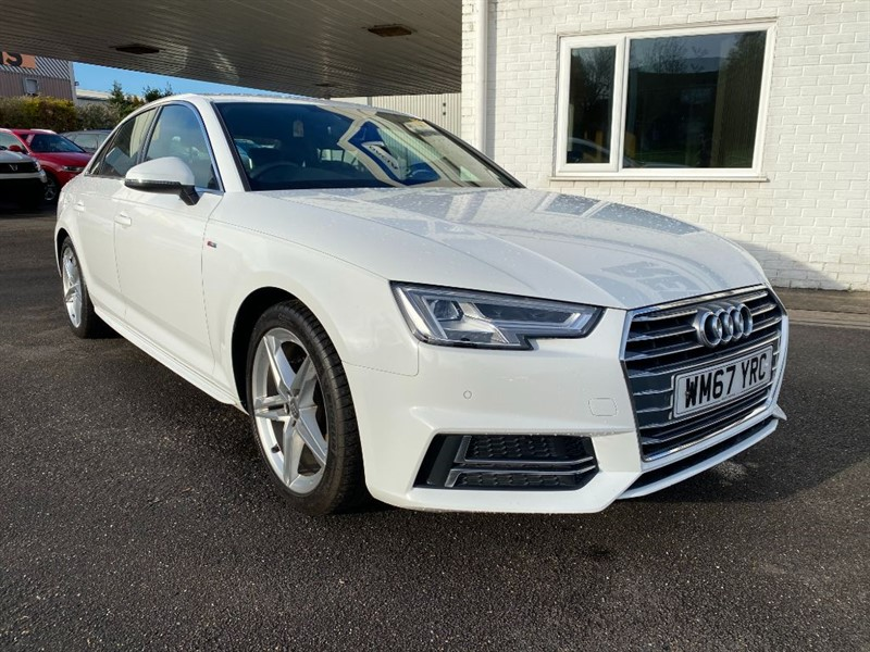 used Audi A4 TFSI S LINE in lincolnshire