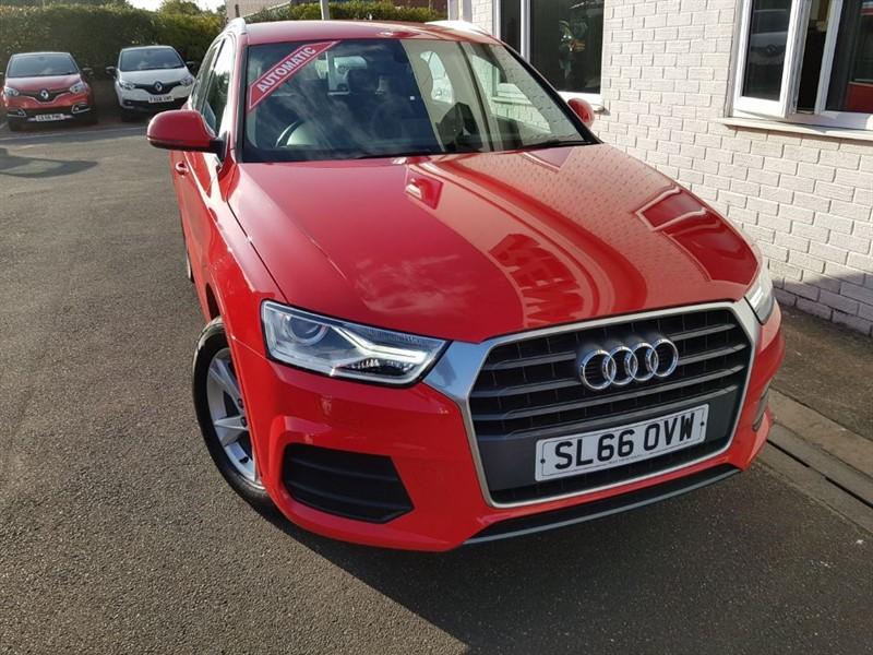used Audi Q3 TFSI SE in lincolnshire