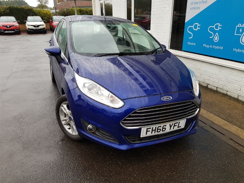 used Ford Fiesta ZETEC TDCI in lincolnshire