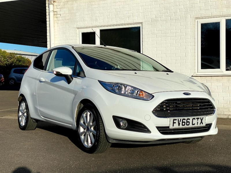 used Ford Fiesta TITANIUM TDCI in lincolnshire