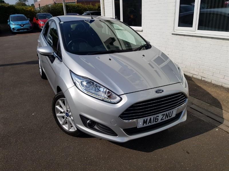 used Ford Fiesta TITANIUM in lincolnshire