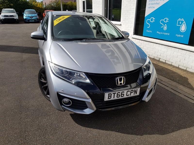 used Honda Civic I-DTEC SE PLUS NAVI in lincolnshire
