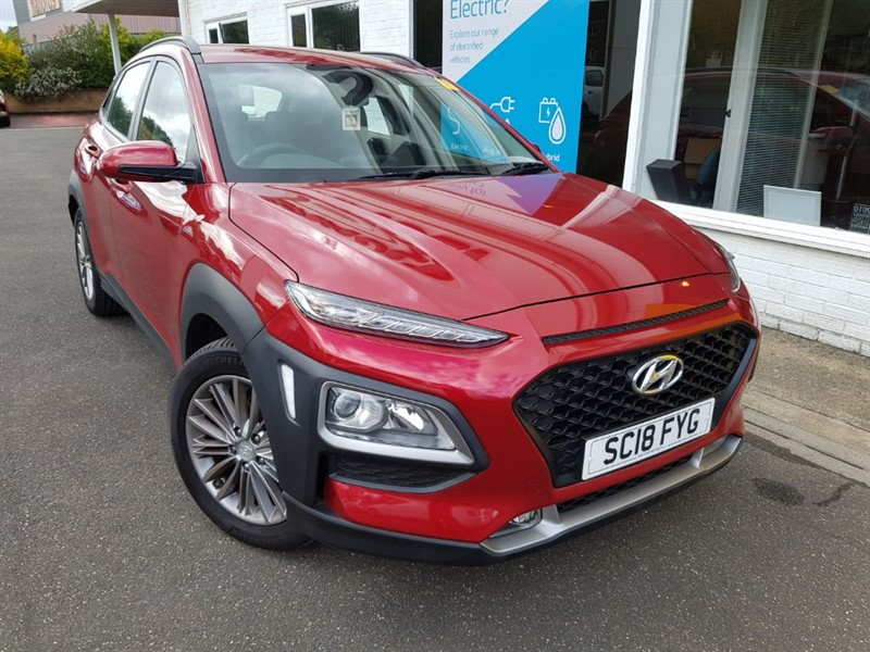 used Hyundai Kona SE in lincolnshire