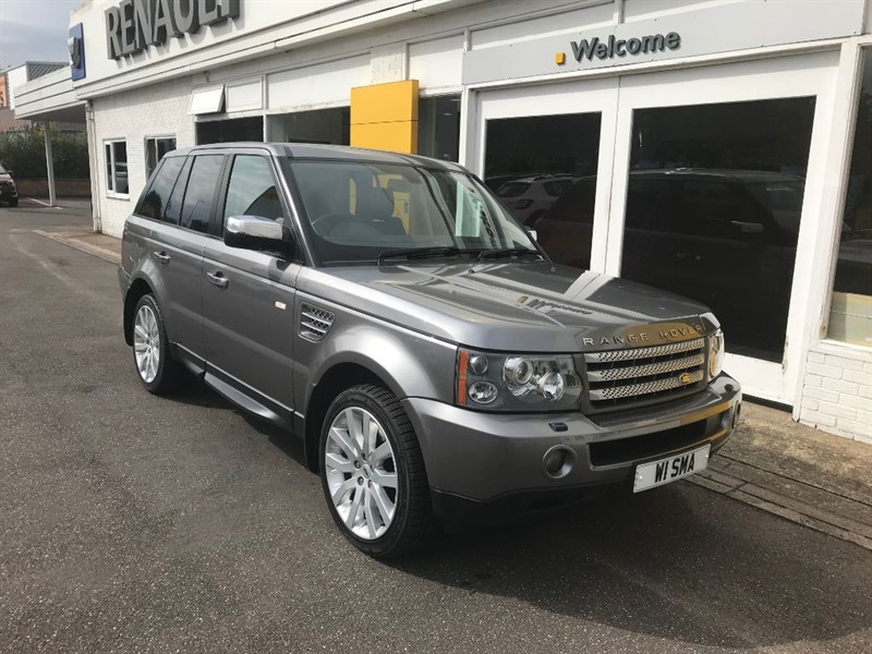 used Land Rover Range Rover Sport TDV8 SPORT HSE in lincolnshire