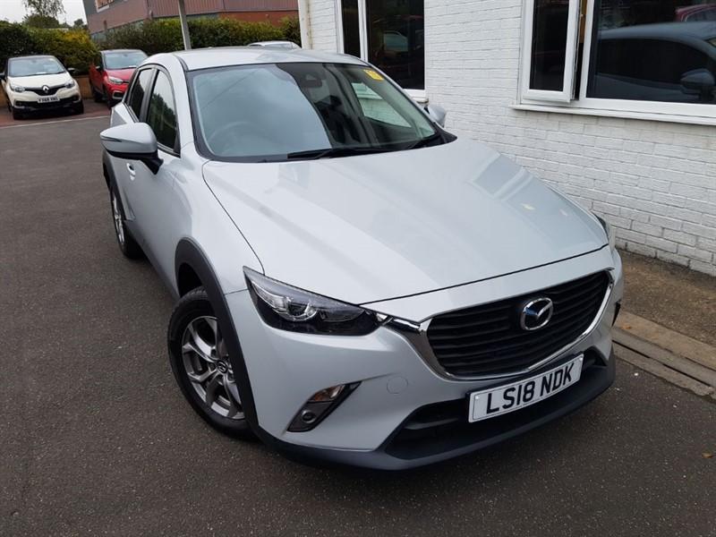 used Mazda CX-3 SE-L NAV in lincolnshire