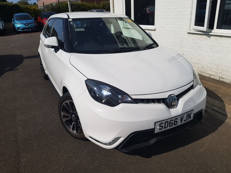 used MG 3 3 STYLE LUX VTI-TECH in lincolnshire