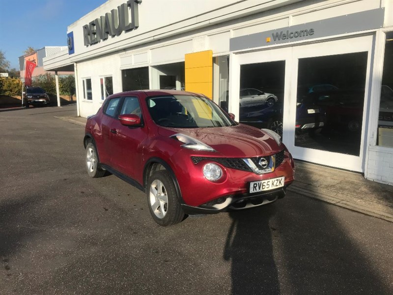 used Nissan Juke VISIA in lincolnshire