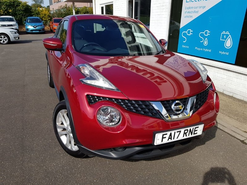 used Nissan Juke N-CONNECTA DIG-T in lincolnshire