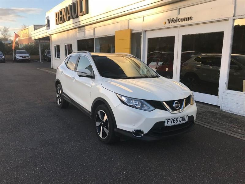 used Nissan Qashqai DCI N-TEC PLUS in lincolnshire