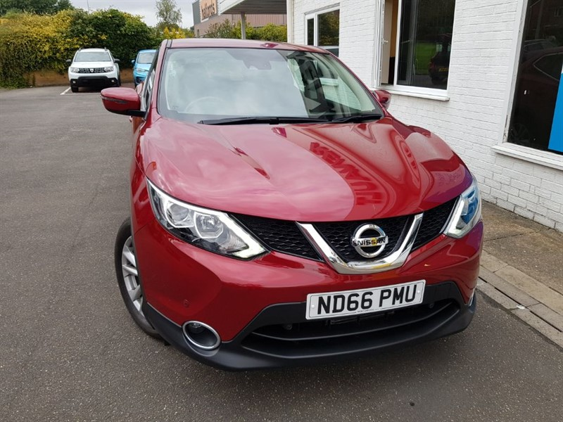 used Nissan Qashqai ACENTA DIG-T SMART VISION XTRONIC in lincolnshire