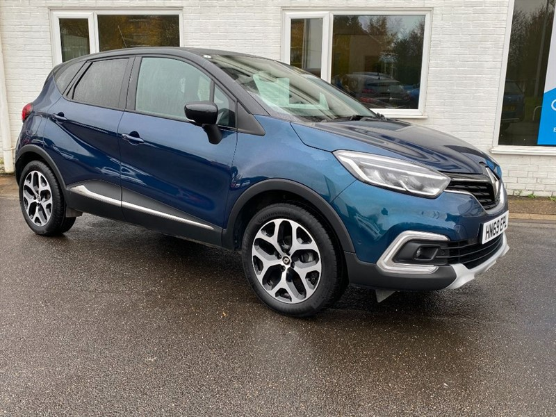 used Renault Captur GT LINE TCE in lincolnshire