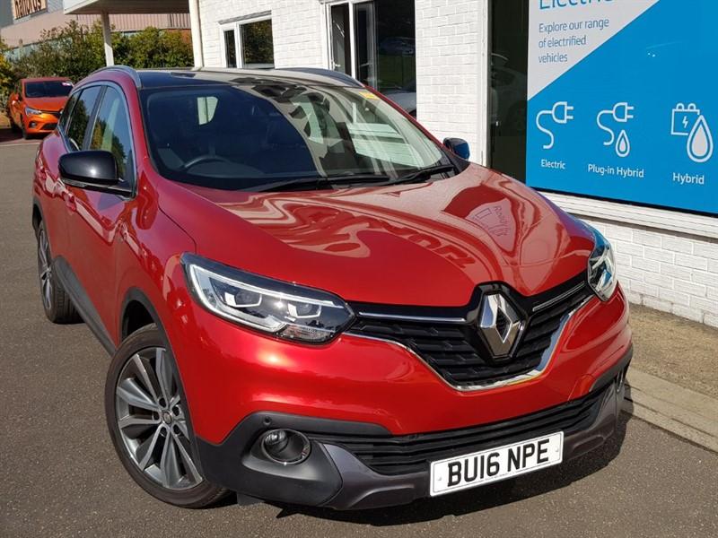 used Renault Kadjar SIGNATURE NAV TCE in lincolnshire