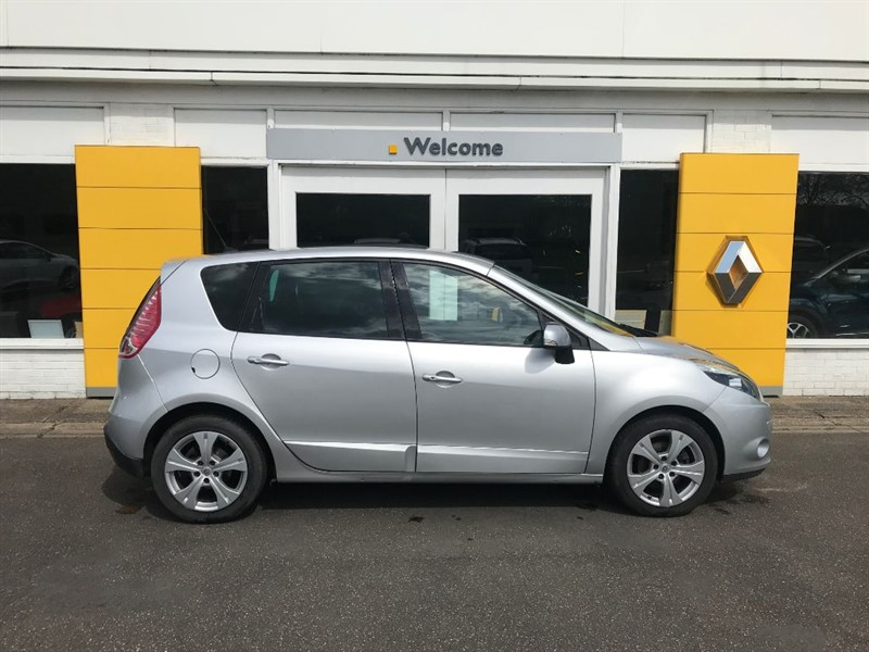 Used Silver Renault Scenic For Sale Lincolnshire